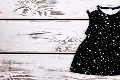 Baby-meisje gevormd merk sundress royalty-vrije stock afbeelding