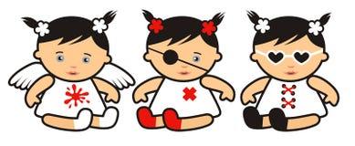 Baby-meisjes Stock Afbeelding