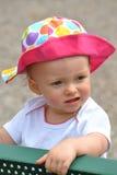 Baby met Hoed Royalty-vrije Stock Afbeeldingen
