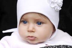 Baby met hoed Royalty-vrije Stock Foto's