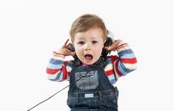 De muziek is te luid! Royalty-vrije Stock Afbeelding