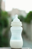 Baby Milk Bottle Stock Photo