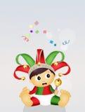 Baby minstrel Royalty Free Stock Photo