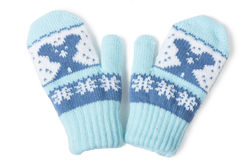 Baby mittens Royalty Free Stock Photos