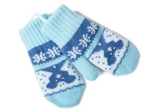 Baby mittens Stock Image