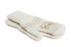 Baby mittens Royalty Free Stock Photo