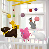 Baby Mobile Stock Images