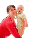 Baby with mom Royalty Free Stock Photography