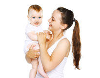 Baby and mom Royalty Free Stock Images