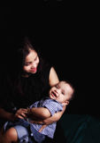 Baby and Mom Royalty Free Stock Photos