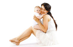 Baby and mom Stock Images
