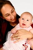 Baby Mommy stock photography