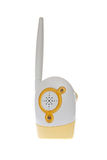 Baby Monitor. Radio baby monitor on a white background Stock Photo