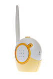 Baby Monitor. Radio baby monitor on a white background Stock Image