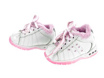 Baby moon walk side view Stock Image