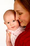 Baby Mother Stock Photo