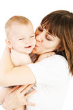 Baby with mother Royalty Free Stock Image