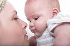 baby mother Στοκ Φωτογραφία