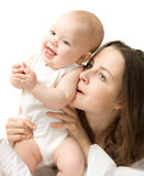 Baby with mother Stock Photos