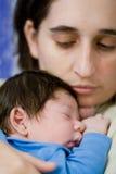 baby mother Στοκ Εικόνα