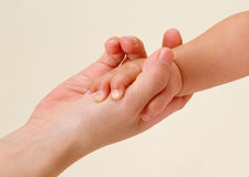 Baby and Mother hands Royalty Free Stock Photo