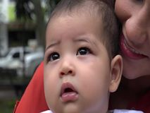 Baby and Mother, Single Mother, Infant stock video footage