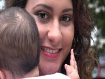 Baby and Mother, Single Mother, Infant stock footage