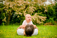 Baby with mother Royalty Free Stock Photo