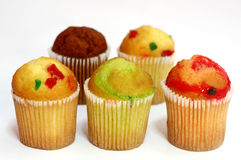 Baby Muffins Royalty Free Stock Photography