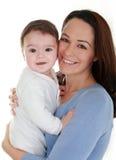 Baby & mum Stock Image