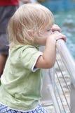 Baby in Museum, Aquarium Stock Images