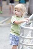 Baby in Museum, Aquarium Stock Image