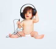 Baby music Royalty Free Stock Photo