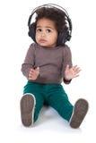 Baby music Royalty Free Stock Photo