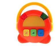 Baby musical toy multicolored radio Royalty Free Stock Images