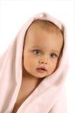 Baby na bad Stock Foto