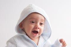 Baby na Bad Royalty-vrije Stock Afbeelding
