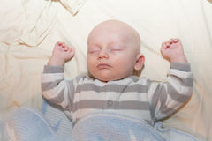 Baby Napping Stock Photography