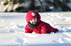 Baby in nature Royalty Free Stock Photo