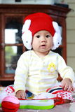 Baby-nettes Baby-Porträt stockfotos