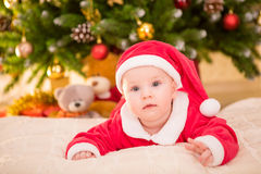 Baby new year Royalty Free Stock Image