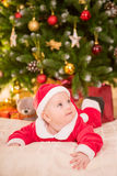 Baby new year Stock Images