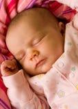 baby newborn sleeping Arkivfoto