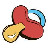 Baby nipple icon cartoon Royalty Free Stock Photos