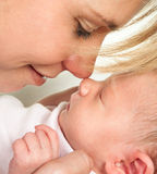 Baby nose Royalty Free Stock Photo