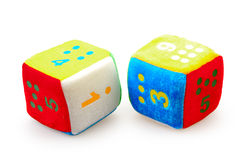 Baby Number Blocks Stock Images