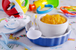 Baby nutrition Royalty Free Stock Photos