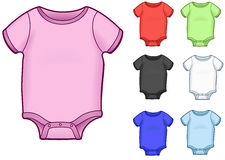 Baby Onesies Stock Photos