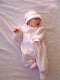 Baby op Deken Royalty-vrije Stock Fotografie