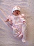 Baby op Deken Royalty-vrije Stock Foto